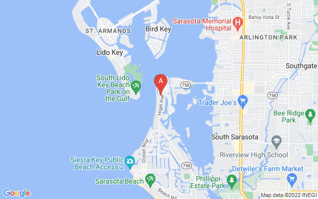 3975 Shell Rd #lots 1 & 2 Sarasota Florida 34242 locatior map